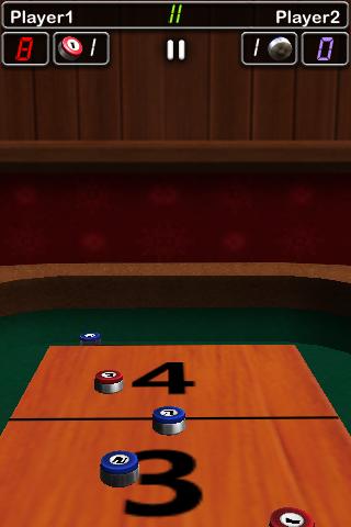 Screenshot iShuffle Board 2